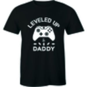 Leveled Up To Daddy Est 2019 Pregnancy T-shirt Tee